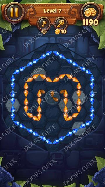 Gems & Magic [Indigo] Level 7 Solution, Walkthrough, Cheats