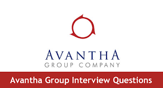 Avantha Group Interview Questions