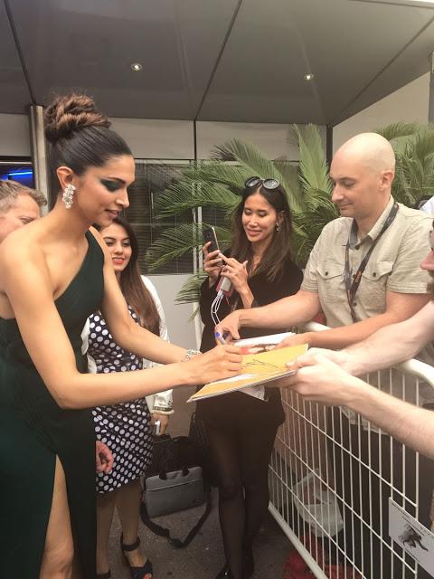 Deepika Padukone At Cannes 2017 Photos Day 2 Stills