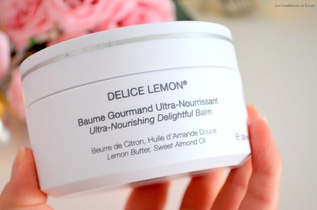 cosmetiques - luxe - baume - crème -  corps - soin pour le corps - soin estival - soin doux - soin leger - soin senteur citron
