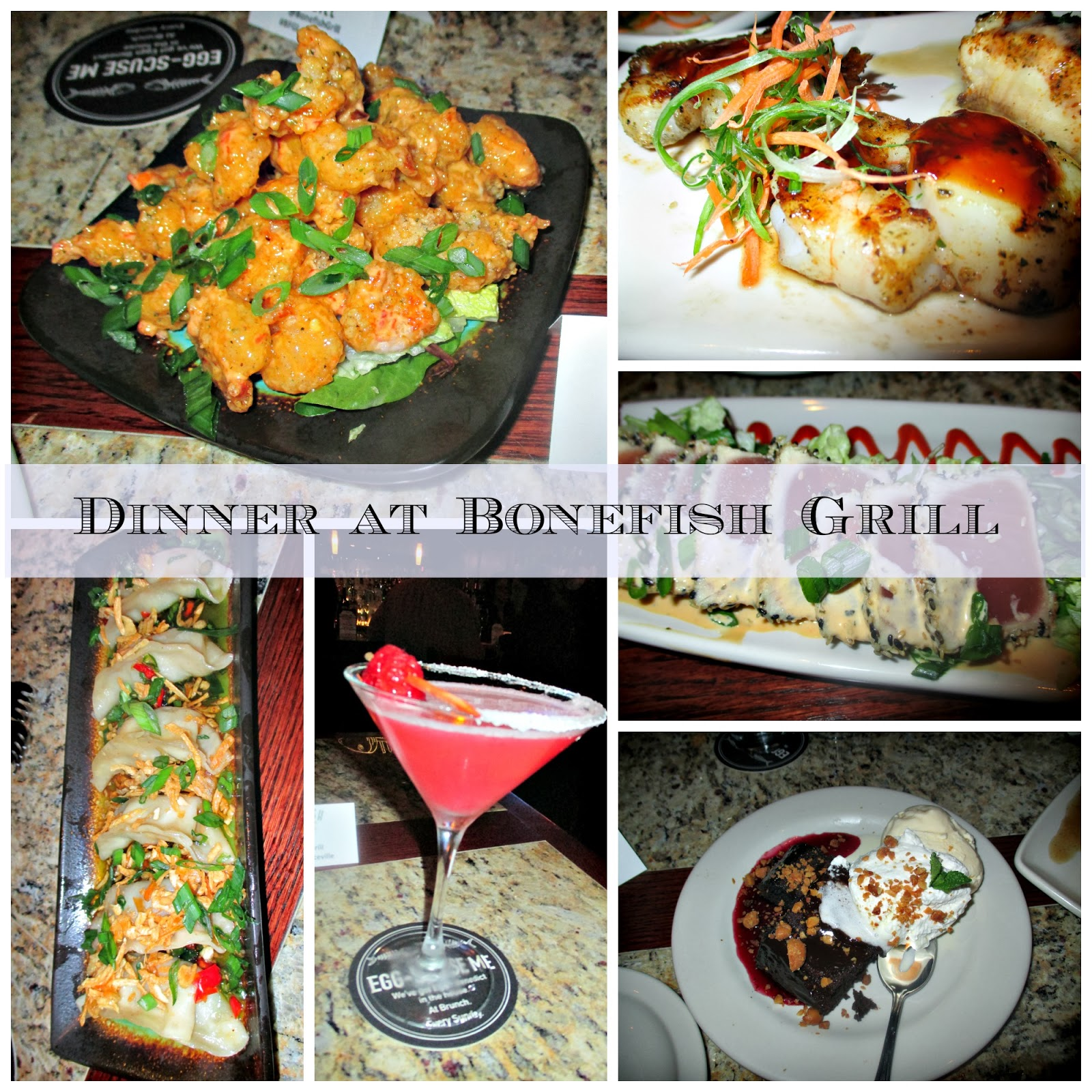 Bonefish grill now open in lawrenceville nj review a for Bone fish and grill