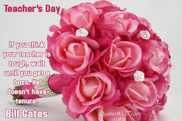 Lovely Teacher's Day Quotes, Whatsapp Status | Quotes Wallpapers