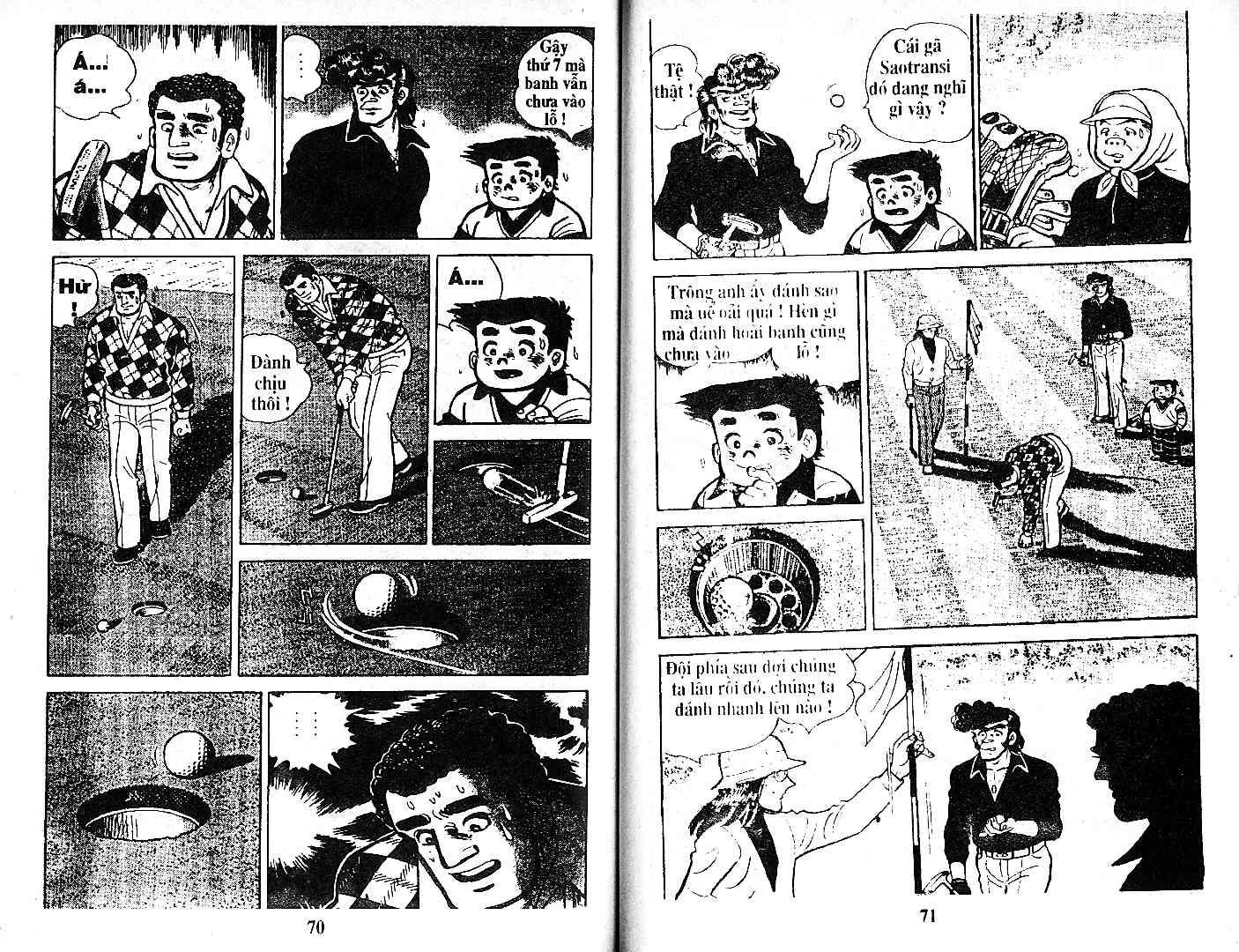 Ashita Tenki ni Naare chapter 26 trang 34