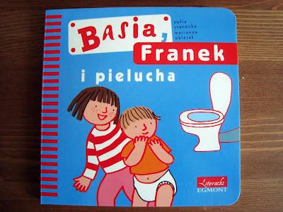 książka, recenzja basia, franek i pielucha