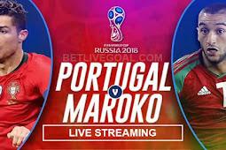 Live Streaming Portugal vs Maroko 20 Juni 2018