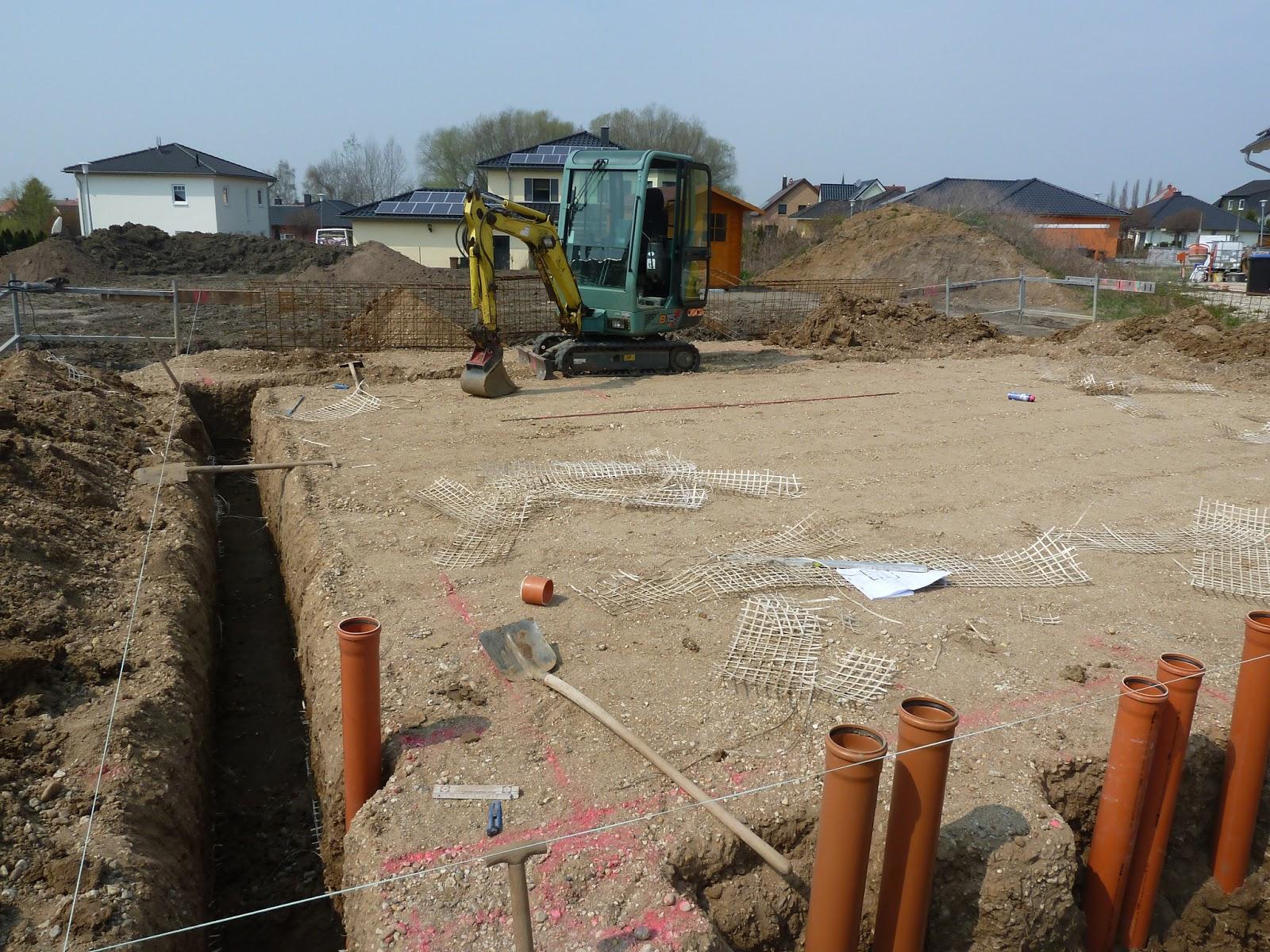 Vom Streifenfundament Zur Bodenplatte Schaffe Schaffe Hausle Baue