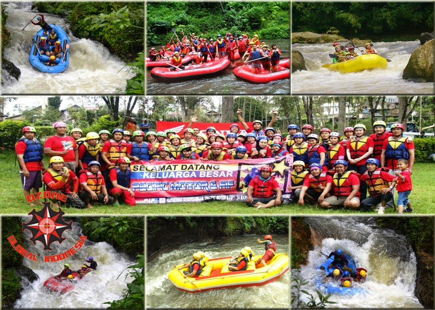 Rafting Event by Ozone Global Indonesia