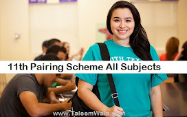 Inter Part 1, 1st Year Pairing Scheme 2021 All Subjects - FA/FSC/ICS 11th Class Download