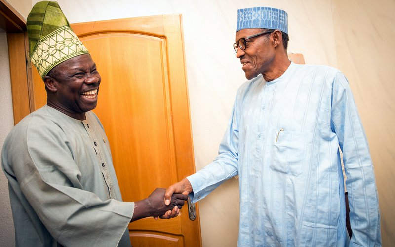 APC suspension: Amosun meets with Buhari in Aso Villa | Baba News