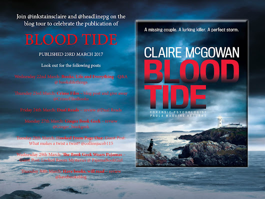 Clare Reviews: Blood Tide by Claire McGowan