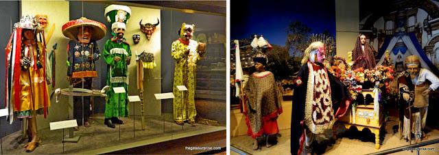 Trajes de rituais religiosos indígenas do México atual