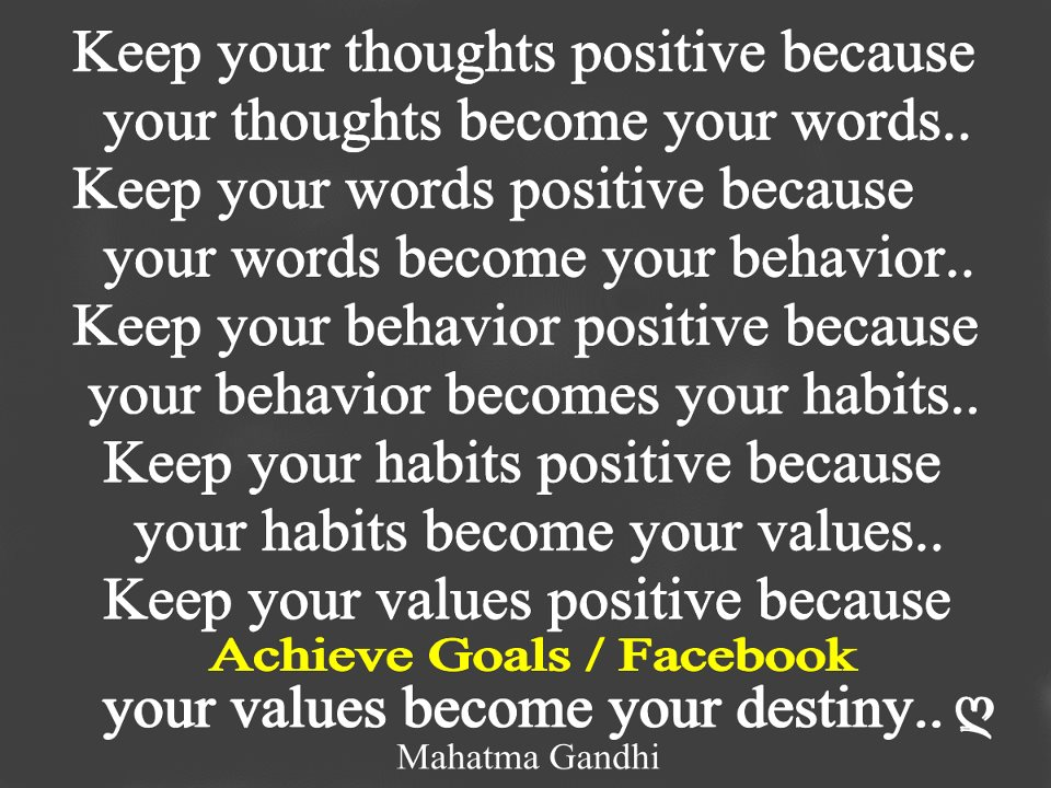Love Life Dreams: Keep Your Thoughts Positive