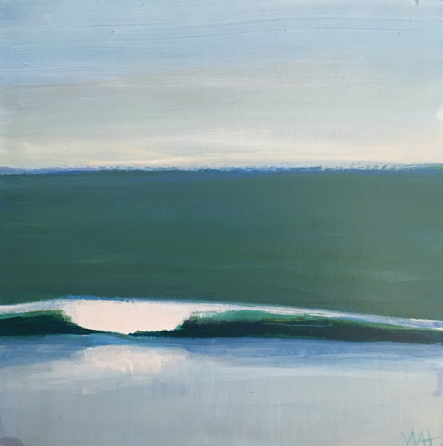 Whitney Heavey painting of wave