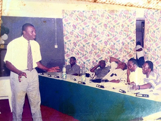 """Check out throwback picture of Alibaba """"killing"""" his audience in 1996"""