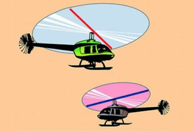 Great Optical Illusion-Helicopter