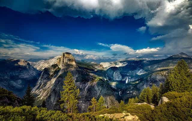Beautiful Landscape of Yosemite National Park