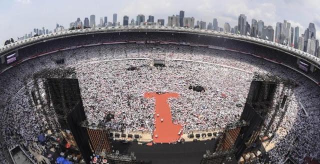 KH Ma'ruf Amin: Hari Ini Kita Putihkan GBK, 17 April Putihkan TPS