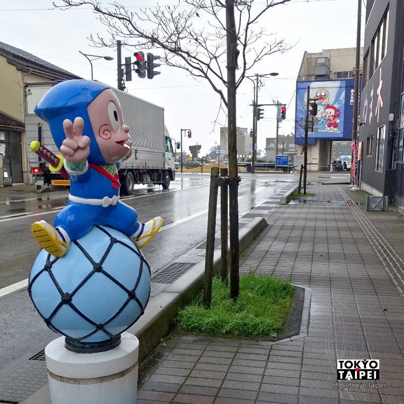 【藤子不二雄Ⓐ的漫畫世界】與忍者哈特利同行 漫步冰見市漫畫之路