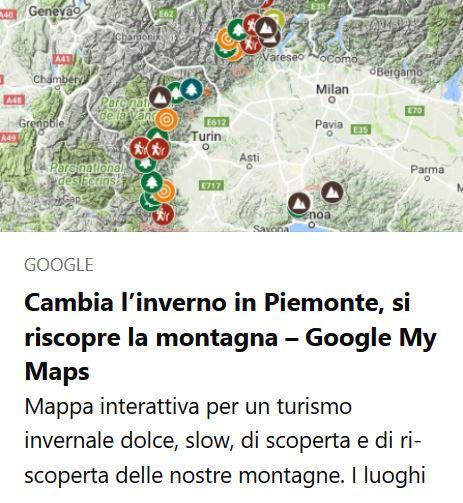 Mappa interattiva Cambia L'Inverno in Piemonte