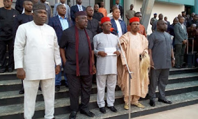 South-East, South-South govs meet over Biafra agitation