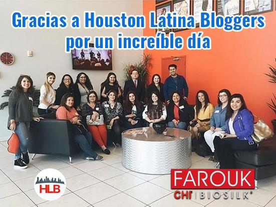 Houston Latina Bloggers at Chi
