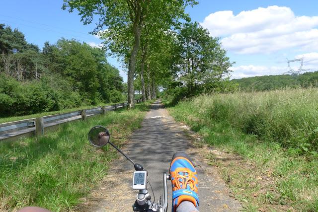 Tour de la Beauce en vélo couché  sur la route