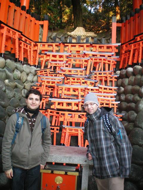 Ofrendas de puertas en Fushimi Inari Taisha