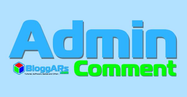 2 Cara Menambahkan Tanda Admin/Author pada Komentar Blog