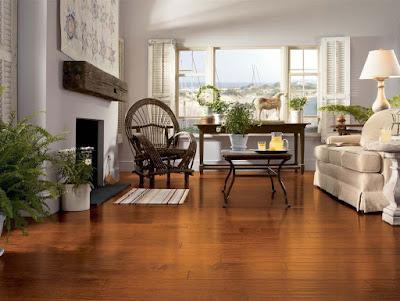 Sàn gỗ giáng hương chịu nước tốt không?