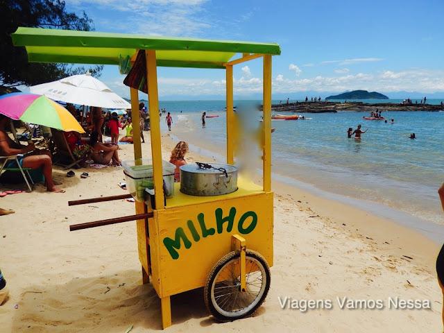 Carrinho de Ambulantes na Praia da Tartaruga