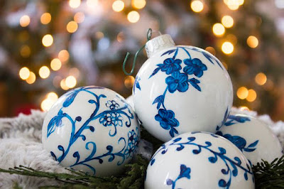 Palline di ceramica decorate a mano tutorial