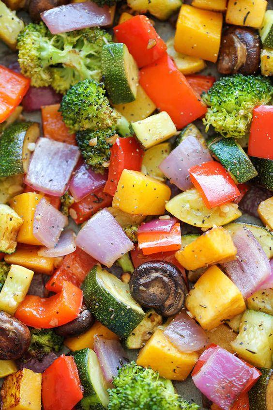 ROASTED VEGETABLES #roasted #vegetable #veganrecipes #vegetarianrecipes #vegetablerecipes