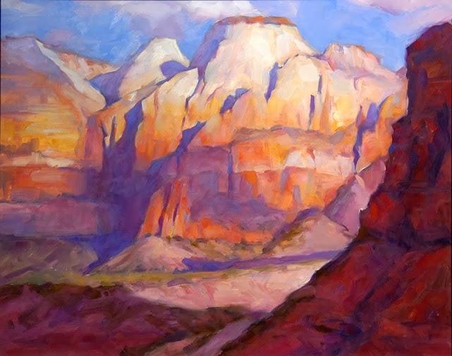 Пейзажная и фигуративная живопись. S. C. Mummert