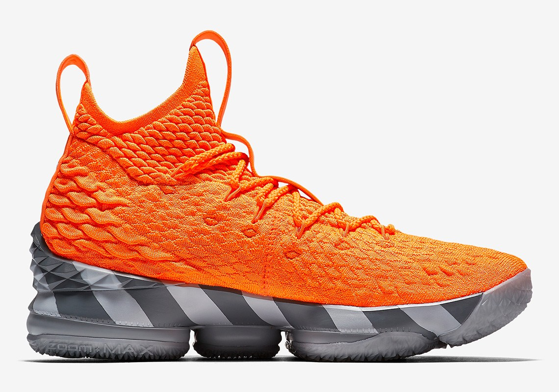 on sale 8ee37 02b74 Nike Lebron 15  Orange Box    Analykix