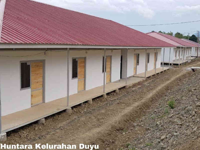 Kemen PUPR Target Bangun 699 Unit Huntara Korban Gempa Bumi di Sulteng