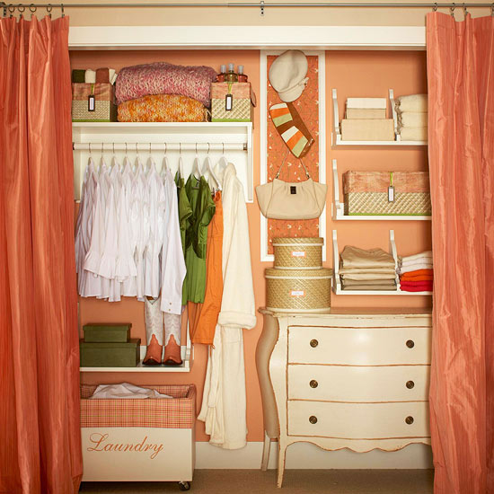 Small Bedroom Closet Organization Ideas - Interior Designs ...