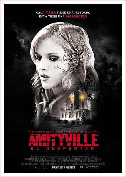 Amityville El Despertar, poster de la nueva película de Franck Khalfoun