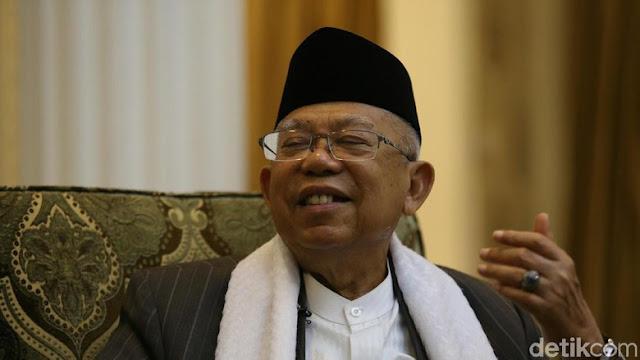Blak-blakan Ma'ruf Amin, Aksi 212 dan Gerilya untuk Jokowi