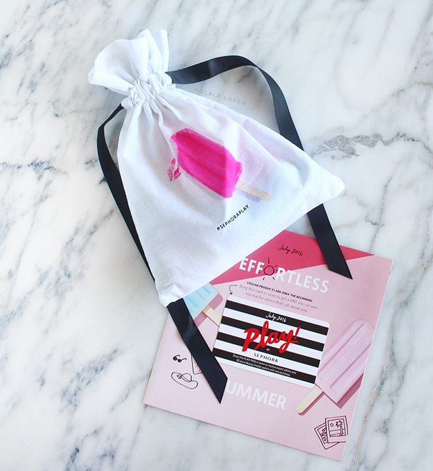 Play by Sephora, Play! by Sephora, Play by Sephora July 2016, Sephora Play, Sephora, Sephora Beauty Box, Play by Sephora Unboxing, Play by Sephora Review #SephoraPlay