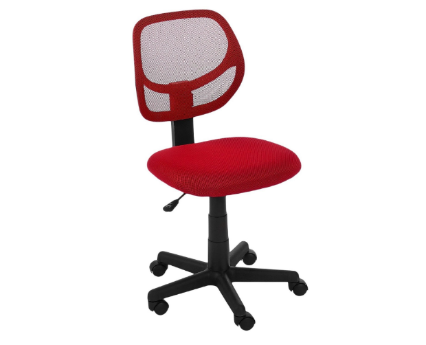 AmazonBasics Low-Back Computer Chair – Red