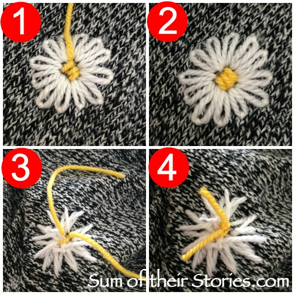 Daisy Jumper refashion