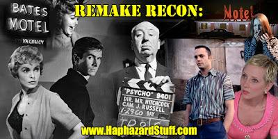 Remake Recon Psycho 1960 1998 Alfred Hitchcock Gus Van Sant Haphazard Stuff review