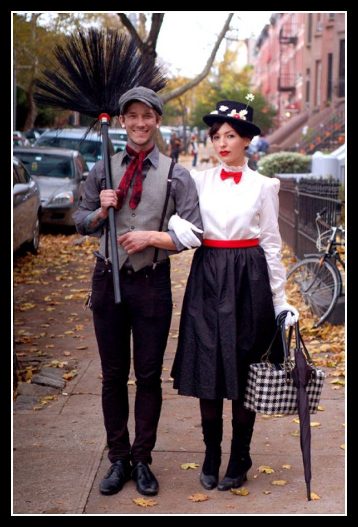 little house in chicago easy halloween costume mary poppins bert. Black Bedroom Furniture Sets. Home Design Ideas