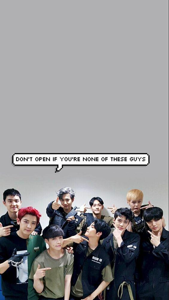 Hình nền điện thoại nhóm nhạc EXO 13
