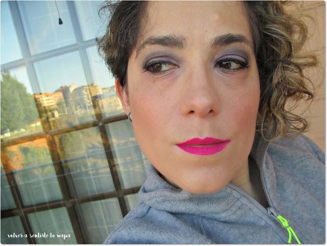 Lip Lacquer Velvet de MUA - tono Criminal