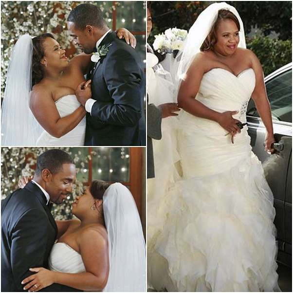 casamento grey's anatomy Miranda Bailey e Ben Warren