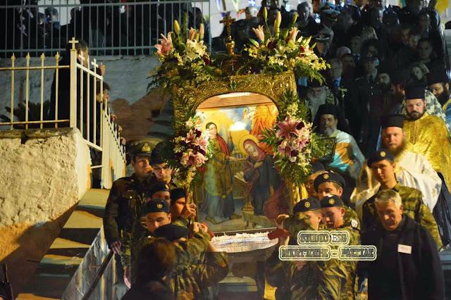 Γιορτάζει η Ευαγγελίστρια Ναυπλίου (πρόγραμμα)