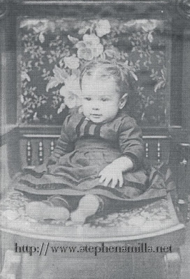 Toddler photo of Ida May Morgan Emmons