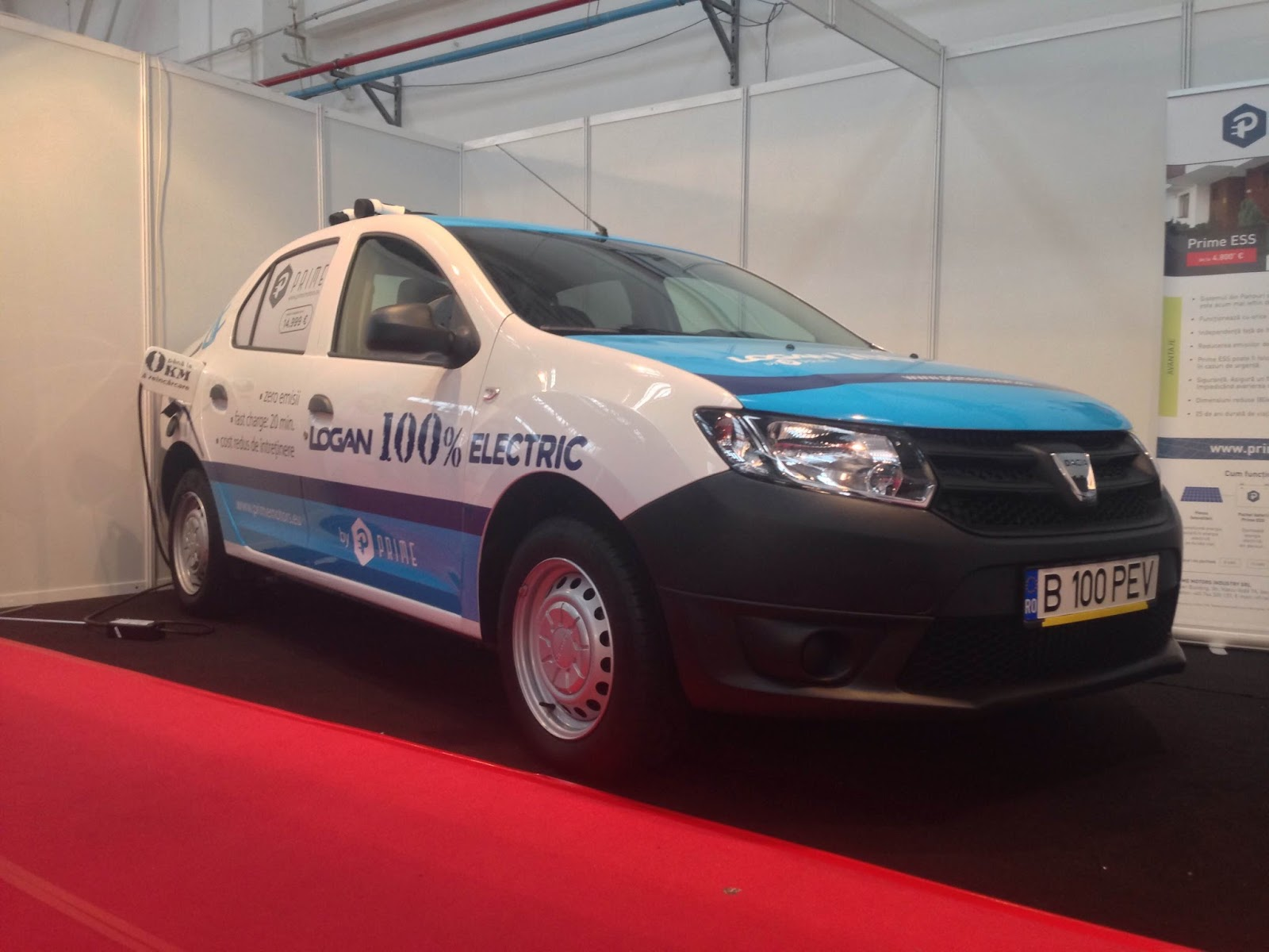 Dacia Logan Electric