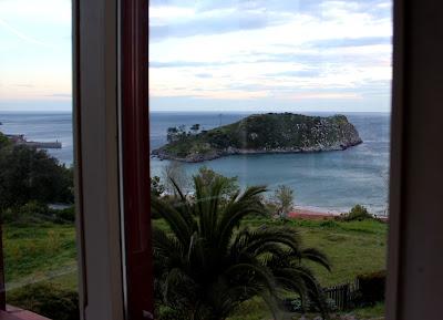 Vistas de la isla de San Nicolás desde la ventana